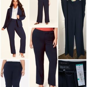Jones New York Collection Stretch Pants Plus Size